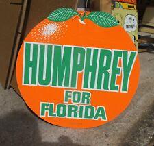 More details for hubert humphrey us election hanger from florida (job lot)