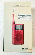 Eton Grundig FM/MW/SW Radio Mini 300PE (Red Colour)