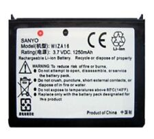New Original OEM SANYO WIZA16 Battery For HTC P3400 P3400i P4300-8100-81525 Lot