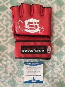 Gilbert Melendez Signed Strikeforce Glove COA BAS Beckett #D81914 Autograph