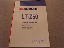 Suzuki Owners Manual 2006 LT-Z50 K6 99011-43G50-03A