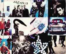1 CD ANNI 90 ROCK BAND BONO VOX U2 BEST CULT ALBUM 1991,ACHTUNG BABY zoo station
