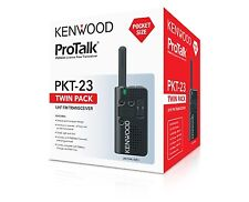 Kenwood PKT-23 Two-Way Radio Twin Pack
