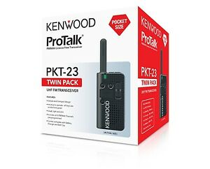 Kenwood Two-Way Radios PKT-23 TWIN PACK