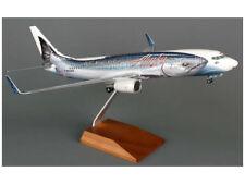 Daron Alaska 737-400 Salmon Model Airplane Model Plane Scale 1/100