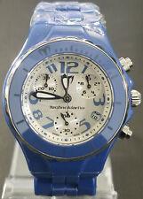 TechnoMarine Diamond Chrono Ocean Blue TCBL01C - Retail $1850 (54% off)