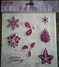 Christmas Set Texture Mat - Cake Decorating Sugarcraft