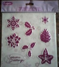 Christmas Set Texture Mat - Cake Decorating Sugarcraft