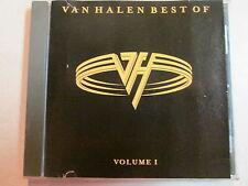 VAN HALEN BEST OF VOLUME 1 CD RUNNIN' WITH THE DEVIL SWITCHED ORDER MIX RARE OOP