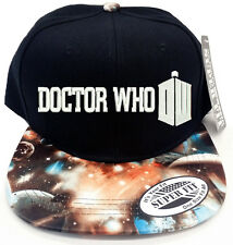 DOCTOR WHO GALAXY Snapback Cap Hat Adjustable one size