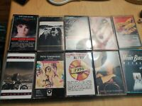 Music cassette tapes lot of 10..lover boy.townsend.lot 1