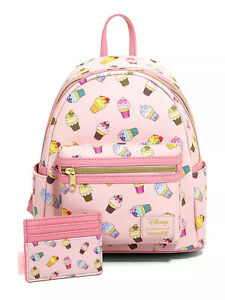 Loungefly Disney Princess Ice Cream Mini Backpack and Cardholder Set