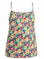 Seasalt Ladies Camisole top Blouse Size 8 10 12 18 20 daisy print cotton