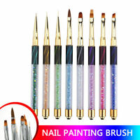 Acrylic Nail Art Pen Brush Painting Dotting Liner Manicure Tools DIY