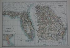 Florida Antique North America Maps & Atlases