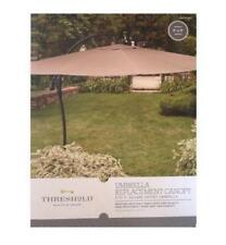 Threshold Outdoor Umbrella Replacement Canopy 9x9 fits 9' Square Offset Tan