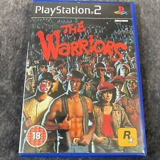 The Warriors PS2 PlayStation 2 PAL Game Complete Rockstar 18+ Gang Action