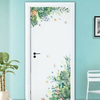 Green Leaves Garden Wall Stickers Door Bedroom Home Sofa Family Art Decor Hot