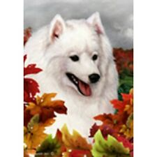 Fall Garden Flag - Japanese Spitz 134011