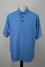 NIKE GOLF Blue Polo Shirt size L