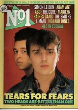 Tears For Fears on Magazine Cover 26 November 1983  Adam Ant  Simon Le Bon  Cure