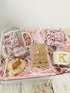 Personalised Mother Of The Groom Wedding Gift Box Hamper Thank You Shabby Chic