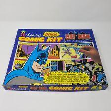 VTG 1989 Batman Deluxe Colorforms Comic Kit Set # 2382 Over 30 Pieces DC Comics