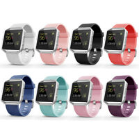 Replacement Silicone Rubber Band Strap Wristband Bracelet For Fitbit Blaze #43
