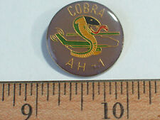 AH-1 Cobra Helicopter Pin  Vintage (**)