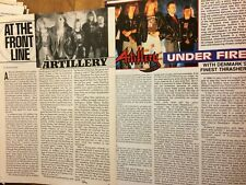Artillery, Lot of Two Full Page Vintage Clippings
