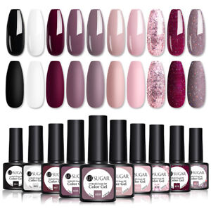 UR SUGAR 10 PCS/SET Nagel Gellack UV Gel Nail Polish Nail Art Soak off Gel Kit