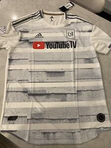 NWT Adidas LAFC Los Angeles FC YoutubeTV Men's Away Soccer Jersey Large