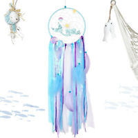 Mermaid Dream Catcher Decor Bedroom Background Dreamcatcher Feather Hanging Deco