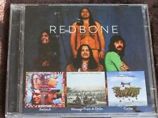 REDBONE 3 albums on 2 CD - Potlatch/Cycles/Message From a Drum