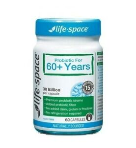 Lifespace-Probiotic For 60+ Years 60 capsules