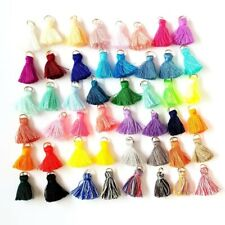 Tassels, Diy Tassels, 48 pieces Mixed Colors, 25mm Tassels, Craft Tassels