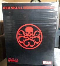MEZCO EXCLUSIVE NYCC 2017 CLASSIC RED SKULL ONE-12 COLLECTIVE ACTION FIGURE RARE
