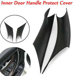 Pair Inner Door Handle Panel Pull Protective Cover For BMW 3 4 Series F30 F35
