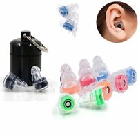 2X Noise Cancelling Ear Plugs for Sleeping Concert Soft Plush Silicone Earplugs