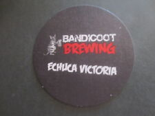 1 only BANDICOOT craft BREWERY,Echuca,Victoria  collectable COASTER