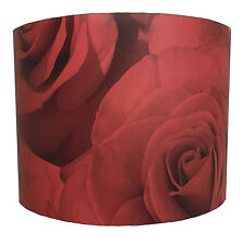 Muriva Madison Roses 119502 Red Wallpaper Table Lampshades Or Ceiling Lights.