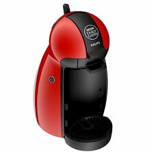 New NESCAFE Dolce Gusto Piccolo Manual Coffee Machine by Krups KP100640 - Red