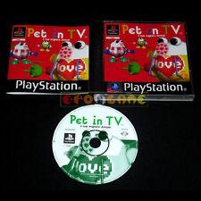 PET IN TV Ps1 Versione Ufficiale Italiana 1ª Edizione »»»»» COMPLETO