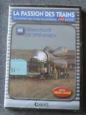La passion des trains, transports exceptionnels - vol 40, DVD
