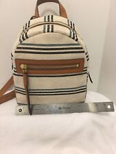 Fossil Megan Backpack Natural ZB7776101 New with Tags