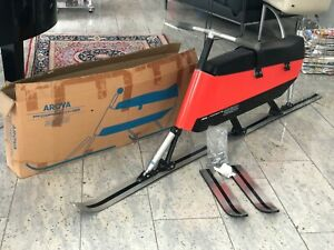 Ultra RARE 1970 Porsche Arova 212 Skibob with ORIGINAL BOX | **ORANGE VERSION**