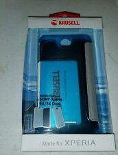 Krusell Boden Flip Cover for Sony Xperia E4/E4 Dual (Blue) New in Package
