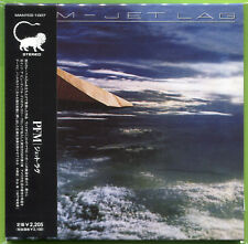 PFM / Premiata Forneria Marconi - JET LAG Japan mini-LP sealed CD OBI Strip