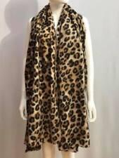 Women Winter Scarf Leopard Print Warm Big Shawl Pashmina Stole Wraps Scarves