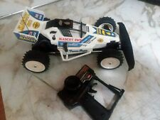 1987 Nikko Super Fox 4WD (Mascot 4WD) 1/14 Vintage Frame Buggy AS IS For Parts